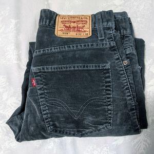 Levi's 559 corduroy straight pants 32x30